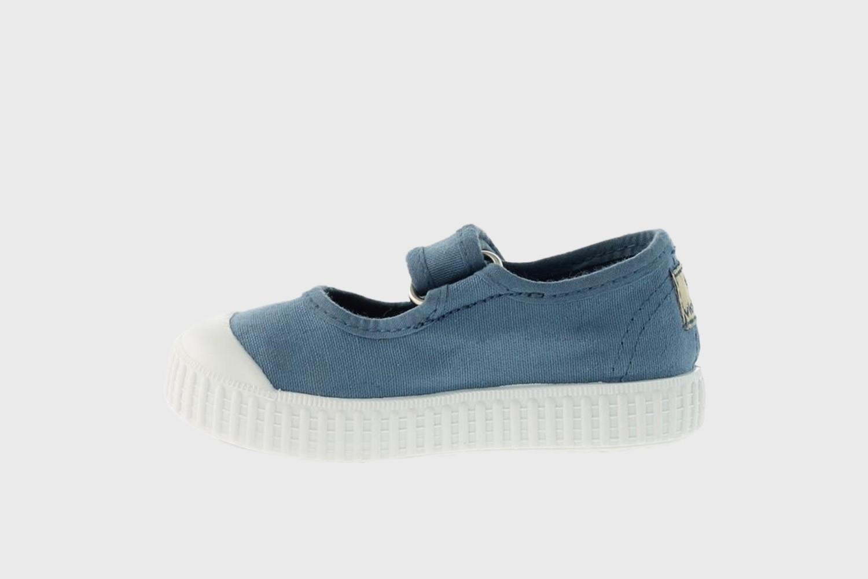 Victoria Shoes Ballerinasko, Modell 36605, Farge: Stone