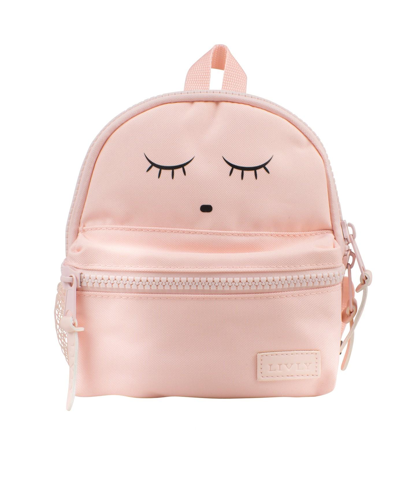 02859f3d Livly Mini Backpack, liten ryggsekk, rosa - Barn og Baby
