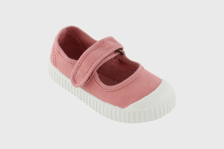Victoria Shoes Ballerinasko, Modell 36605, Farge: Nude