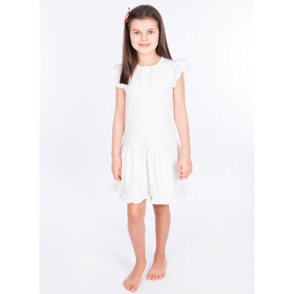 d7c32e4d ... Vilje og Ve barneklær Helle Dress, Hvit kjole. Previous; Next