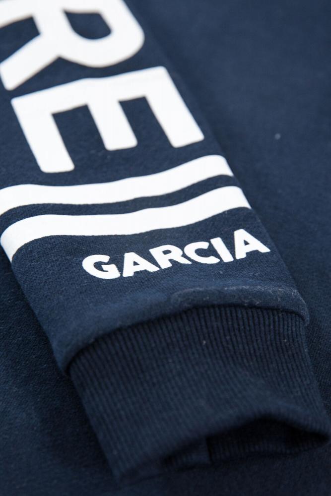 Garcia svart t skjorte med tekst Barn og Baby