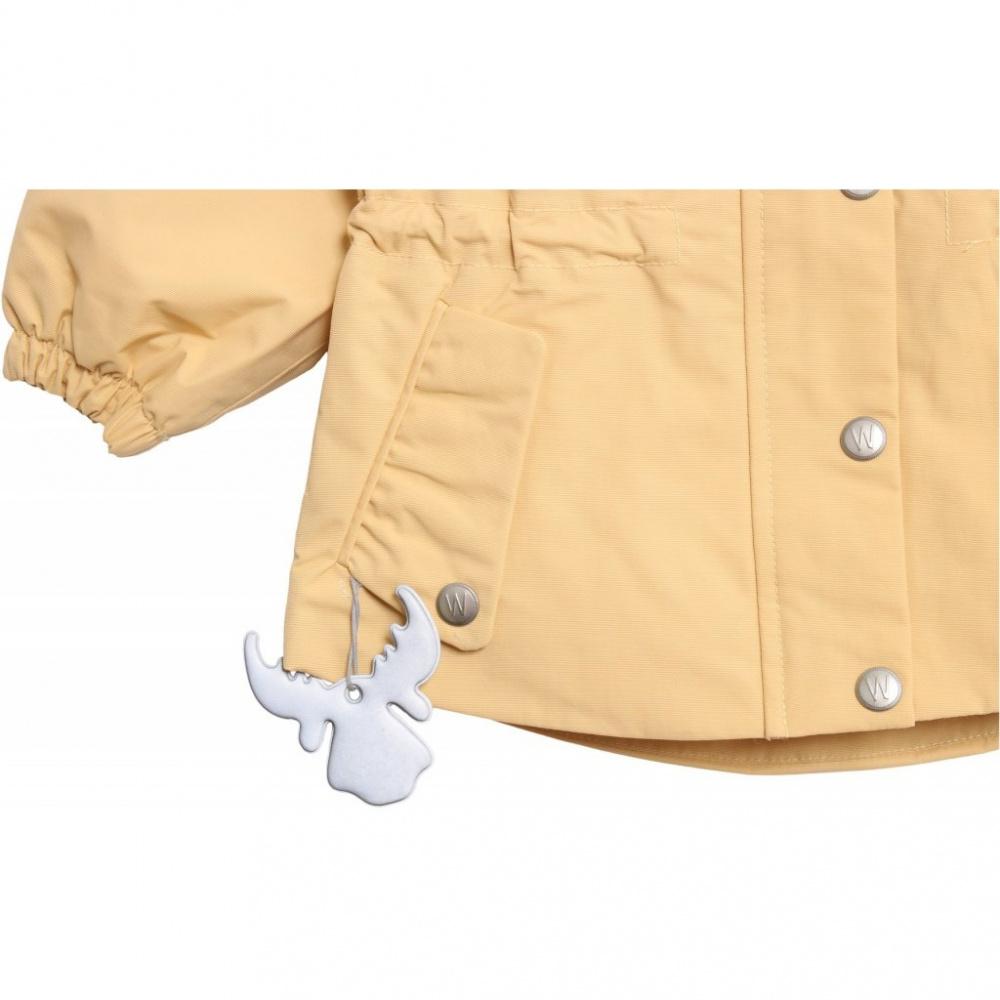 0e1a3736 Wheat Jacket Cornelia Yellow ensfarget - Barn og Baby