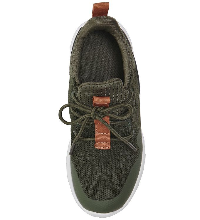 Hummel Actus Trainer Olive Night, Grønne Sneakers Barn og Baby